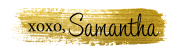 samantha - Blog Signature