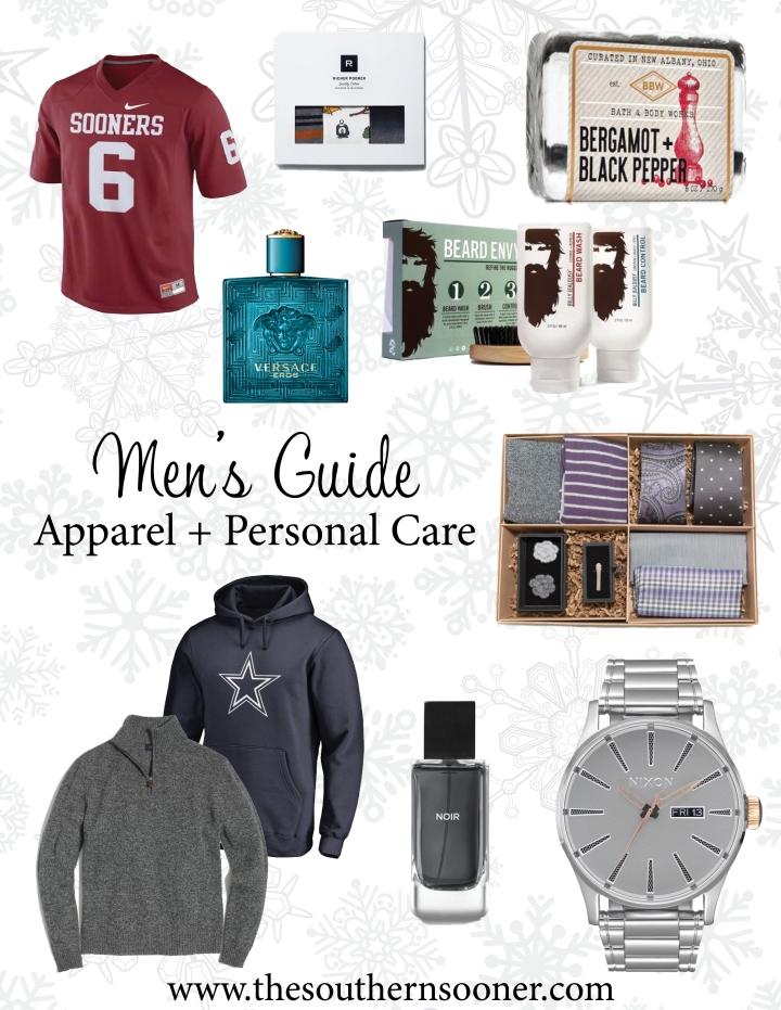 Men's Guide Apparel + Personal Care