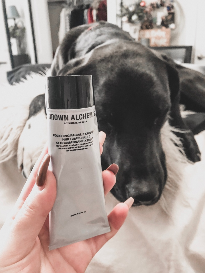 grown alchemist polishing facial exfoliant, november raves and rejects