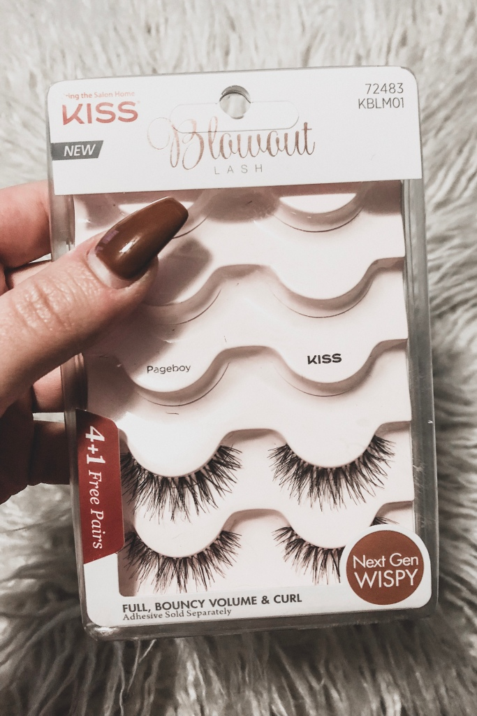 kiss blowout lashes pageboy, november raves and rejects