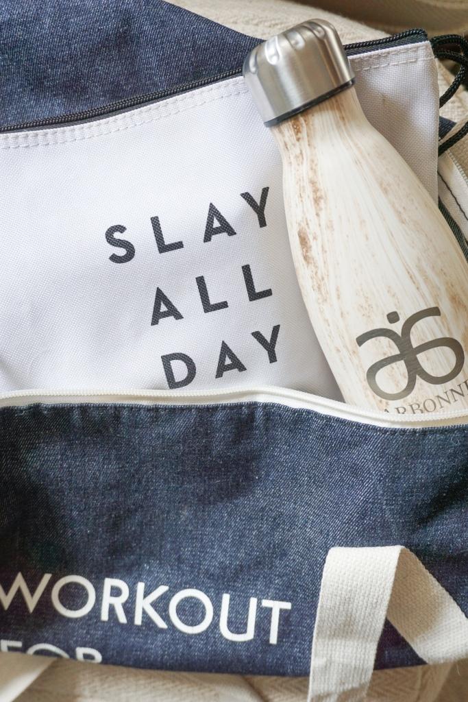 wellness wednesday: my gym bag essentials