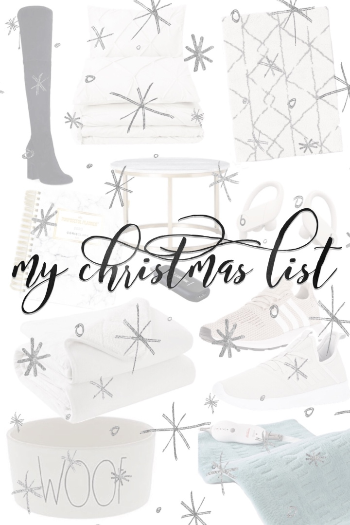 my christmas list + cyber monday deals
